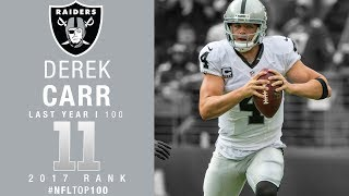 Download #11: Derek Carr (QB, Raiders) | Top 100 Players of 2017 | NFL Video