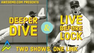 Download MLB DFS Picks & Live Before Lock - Tue 8/20 - Deeper Dive - DraftKings FanDuel FantasyDraft Yahoo Video