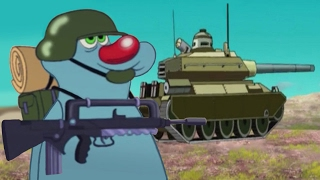 Download Oggy and the Cockroaches Military compilation #28 Video