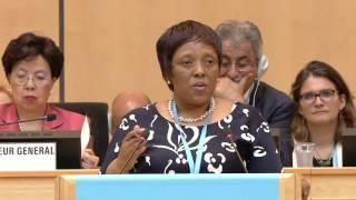 Download WHO: WHA 69 - Speech by Malebona Precious Matsoso, WHO's Executive Board Chairman Video