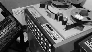 Download Reel to reel tape 2″ simple recording drums (first test recording) Video