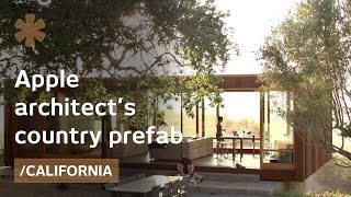 Download Apple architect picks a small prefab to savor CA countryside Video