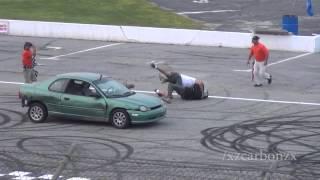 Download Spectator Drag Finals FIGHT (Oxford Motor Mayhem) Video