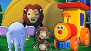 Download Ben treno per zoo | Canzoni per bambini | Kids Song | Ben Train Going to Zoo | Learn Animal Video