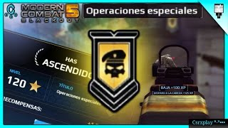 Download Nivel 120 Operaciones Especiales *-* / Modern Combat 5 Gameplay Multiplayer Video