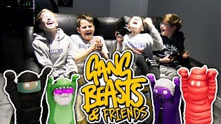 Download GANG BEASTS & FRIENDS!! #2 Video