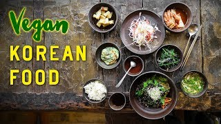 Download VEGAN KOREAN FOOD on Jeju Island, South Korea Video