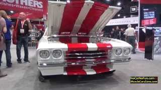 Download Custom Classic Chevelle by Kindig It Design at 2015 Sema Motor Show Video