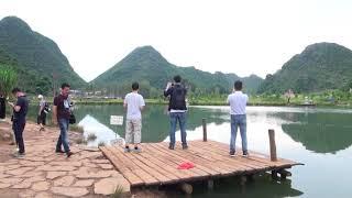 Download เยี่ยมชมสถานที่ถ่ายทำซีรี่ย์ละคร สามชาติสามภพป่าท้อสิบลี้ ที่อุทยานธรรมชาติผูเจ่อเฮย มณฑลอันฮุย ประ Video