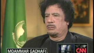 Download Moammar Gadhafi on Larry King 9/28/09 1 of 5 Video