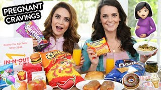 Download TRYING MY SISTER'S PREGNANCY CRAVINGS!!! w/ My Sister! Video