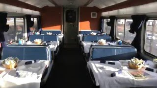 Download interior walk through of Amtrak train California Zephyr Video
