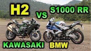 Download KAWASAKI H2 VS BMW S1000 RR - BLITZ RIDER Video