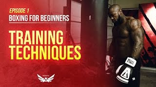 Download Boxing for beginners | Training techniques Episode 1 Video