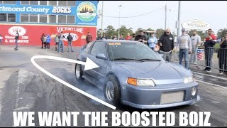 Download Racing at Import Faceoff... We want to call out the BOOSTED BOIZ!!! Video