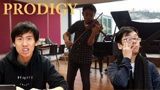 Download REACTING TO THE VIOLIN PRODIGY Video