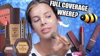 Download I TESTED BURTS BEES MAKEUP | SOME FLOPPED, SOME DIDNT Video
