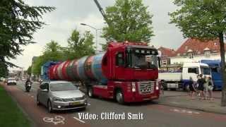 Download KMG Mission Space aankomst transporten kermis Hoorn Video