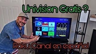 Download **Roku Canal privado en ESPANOL con Univision Gratis** Video