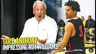 Download THAT'S A BAD MAN!! Cole Anthony Shows OUT in Front of Roy Williams in EYBL Debut! Video