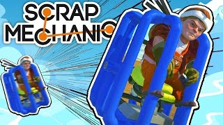 Download Scrap Mechanic CREATIONS! - GREATEST HUMAN LAUNCHER!! [#25] W/AshDubh | Gameplay | Video