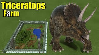 Download How to Make a Triceratops Farm | Minecraft PE Video