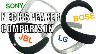 Download Ultimate Neck Speaker Comparison : Bose vs JBL vs Sony vs LG Video