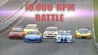 Download [ENG CC] 10,000 Rpm VTEC Battle - S2000, NSX, CRX, Civic, City, Altezza HV53 Video