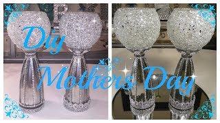 Download DIY - CRUSHED GLASS BLING VASE / CANDLE HOLDER (RE UPLOAD) Video