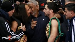 Download Keith Thurman vs. Danny Garcia Full Weigh In Face Off Video Video