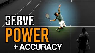 Download FLAT SERVE Tennis Lesson: Technique for POWER + ACCURACY Video