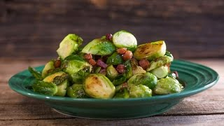 Download Marc Murphy's Brussels Sprouts with Bacon Video