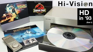 Download Hi-Vision Laserdisc - HD in '93 (Part 1) Video