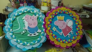 Download Como hacer Piñata Tambor George Pig DIY Video