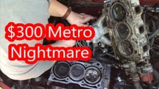 Download Can the $300 Geo Metro's Engine Be Saved? Video