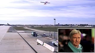 Download Frightening New Video Shows Harrison Ford Landing Plane On Wrong Runway Video
