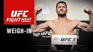 Download UFC Fight Night Shanghai: Official Weigh-in Video