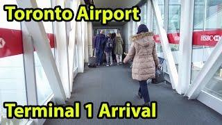 Download Toronto Airport Terminal 1 Arrival Tour 2018 YYZ - HD - DJI Osmo+ Video