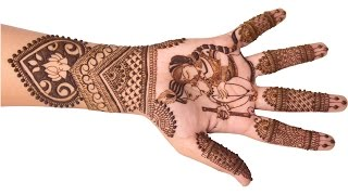 Download Festival Mehndi Design for Hands Step by Step Tutorial Video