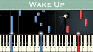 Download NF - Wake Up | Piano tutorial Video
