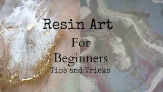 Download Top tips and tricks to create resin art for beginners Video
