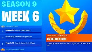 Download WEEK 6 CHALLENGES, Fortnite Season 9 Video
