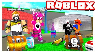 Download ROBLOX 2 PLAYER FORTNITE TYCOON with MY LITTLE BROTHER! Video