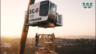 Download Kranaufbau Liebherr 172 EC-B Heizkraftwerk Wuppertal Video