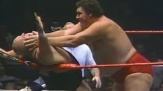 Download Andre the Giant vs King Kong Bundy 1985 Video
