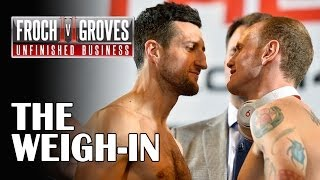Download Froch v Groves II - The Weigh-In Video