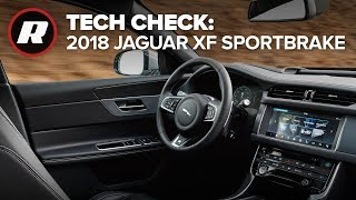 Download Tech Check: Inside the 2018 Jaguar XF Sportbrake Video