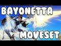 Download Smash 4 - Bayonetta Moveset Gameplay, Taunts, Final Smash (1080p 60fps) Video