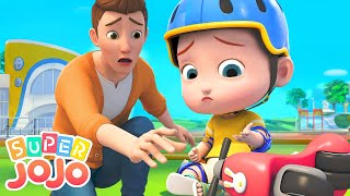 Download Riding A Bike Song | Let's Ride Bikes + More Nursery Rhymes & Kids Songs - Super JoJo Video