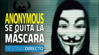 Download Anonymous se quita la máscara - Testigo Directo Video